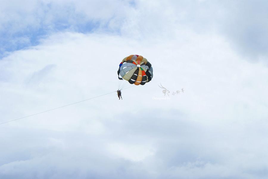 羚羊的越南行记--芽庄玩滑翔伞and乘船四岛游
